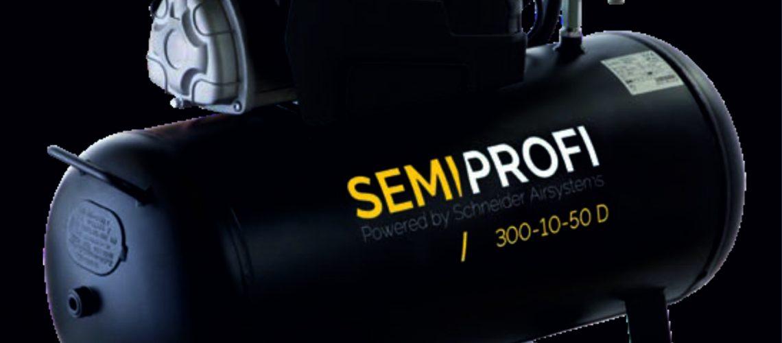 Schneider Kompressor schwarz